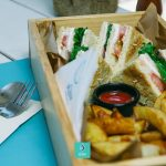 Aqua Summer Lounge Club - Club sandwich