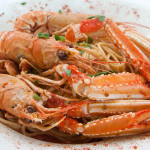 Sfyris Fish & Seafood Restaurant - Crawfish Spaghetti